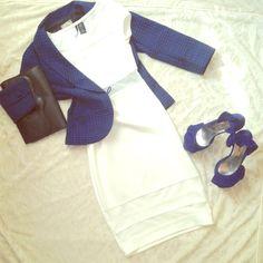 White And Mesh Dress