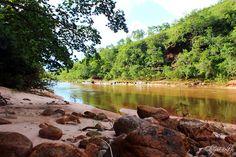 Rio das Garças - Guiratinga, Mato Grosso - (by olimpiab)
