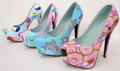 Personalised Stilettos Your choose the design by PonyChopsShop