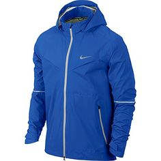 Nike Men's Rain Runner Running Jacket, Hyper Cobalt/Light Ash Grey, Large Nike ++You can get best price to buy this with big discount just for you.++