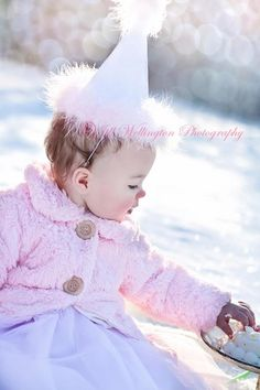 This is Life?: Winter Portrait Shoot for First Birthday