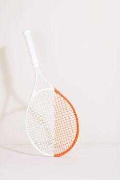 White and orange tennis.