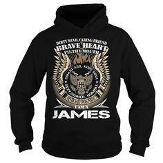 JAMES Last Name, Surname TShirt v1