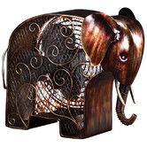 I had to have it!  Found it at Wayfair - Elephant Shaped Figurine Fan