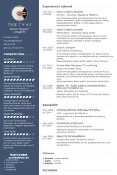 freelance graphic designer Resume Example cv Pinterest Graphic