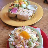 """Mango Mangos, St. Augustine, Florida - Average Yelp Review: 4.5/5. D.G. wrote, """"Everything we had was great! We even went back a second time during our short trip to St. Augustine. We tried the mahi sliders, fish and chips, coconut shrimp, seafood chowder, and key lime pie. All were delicious!"""""""