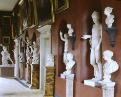 The finest surviving expression of early C19th taste in painting & sculpture in the North Gallery at Petworth