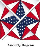 Free Quilt Block Pattern - Spiderweb Star.  This is the block I have been looking for!