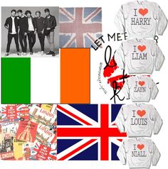 """One Direction"" by naomi-skinner ❤ liked on Polyvore"