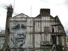 Guido Van Helten, #mural in Portobello Rd, Dublin. #urbanart #graffiti