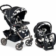 Britax Chaperone Travel System - Cowmooflage