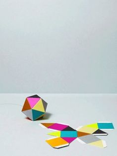 Colors, Triangle, Geometric