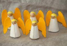WoodenAngels by themushroomgnome, via Flickr