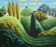 Artworks of George Callaghan (Irish)