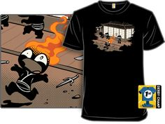 The unstealthiest Ninja t shirt.  This is awesome and I still want this shirt!  Hint Hint.  $15 at woot.com