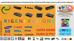 RIGENERAZIONE TONER E CARTUCCE DI STAMPA http://ift.tt/1Bu9BBe