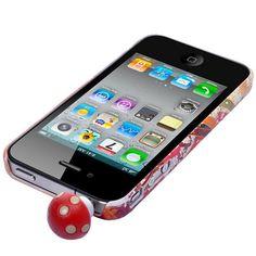 """Søkeresultat for: """"smarttelefon stovbeskytter for 3 5 mm audio out rod sopp"""" Ipod, Smartphone, Audio, Accessories, Ipods, Ornament"""
