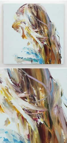 The Jealous Curator /// curated contemporary art /// jaclyn conley in Painting