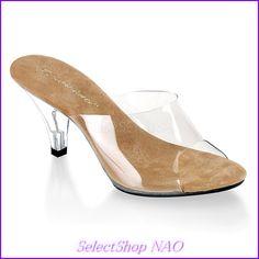 【楽天市場】【PLEASERプリーザー】・薄底サンダル・ミュール★3インチ(約7.6cm)・ローヒール・ミニプラットフォーム[Pleaser]特別価格販売のため、サイズ交換、返品など対応不可/レディース靴:セレクトショップNAO