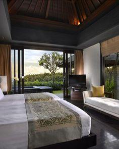 bali bedroom design. Banyan Tree Ungasan  Bali Indonesia In One Bedroom Villas Sliding Glass Doors Open Directly Onto A Private Infinity Pool Balinese Interior Design Bedroom