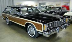 1973 Ford Country Squire station wagon #ClassyCars