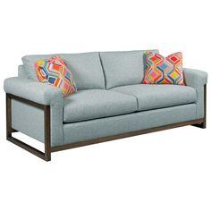 Traverse Sofa By Kincaid Furniture At Becker World Wood Brackets Belfort Lobbies