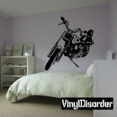 Chopper Wall Decal - Vinyl Decal - Car Decal - SM102