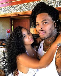 Rapper and wife Tammy Waka Flocka And Tammy, Tammy And Waka, Couple Relationship, Cute Relationships, Freaky Relationship, Black Couples, Cute Couples, Power Couples, Happy Couples