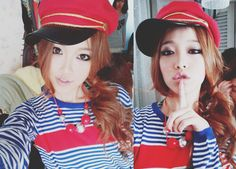 asian hair makeup fashion hat