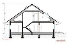 Projekt domu Alfa 3 98.35 m² - Domowe Klimaty Stairs, Home Decor, Cottage, Architecture, Stairway, Decoration Home, Room Decor, Staircases, Home Interior Design
