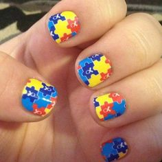April is Autism Awareness month! Are your nails ready? With your purchase of these Jamberry wraps, a donation is made to the Autism Society. Get your's today! (http://krissylarsh.jamberrynails.net/)  @Krissy Larsh