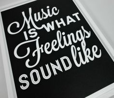 Music Feelings Print