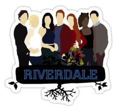 Riverdale stickers featuring millions of original designs created by independent artists. Riverdale Wallpaper Iphone, Wallpaper Iphone Cute, Galaxy Wallpaper, Tumblr Stickers, Phone Stickers, Cool Stickers, Riverdale Poster, Cute Drawlings, Tumblr Png
