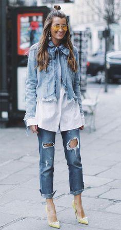 Cool jeans // CANTRELLE DESIGN