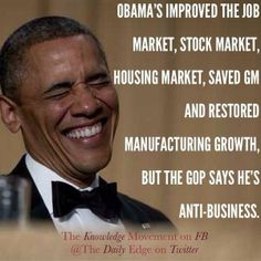 Inherited worst economic crisis in 80 YEARS - Fixed with zero help from LOLGOP