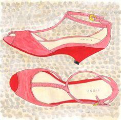alexasegur shoe sketch