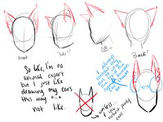 How to draw animal ears on a nekomimi/gijinka/ whatever the hell you want to call those people in anime with animal ears