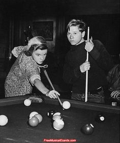 https://www.youtube.com/user/Bilijar9 -  Judy Garland and Mickey Rooney together as teenagers.