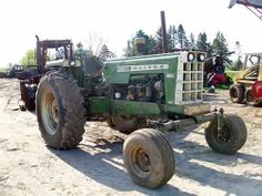 Oliver 1655 tractor salvaged for used parts. Call 877-530-4430 http://www.TractorPartsASAP.com