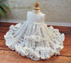 Baptism Dress  Blessing Dress  Christening by SweetSouthernBabies