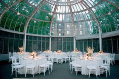 Brooklyn Botanic Garden Wedding Reception