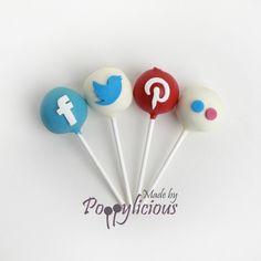 #socialmedia cake pops