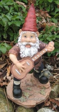 Now a days Gnomes are seen more as being companions, in travel or in gardens. I have a newly acquired interest in the cute little fellas.