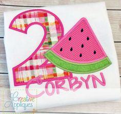 watermelon-applique-embroidery-design $ REPIN THIS then click here: https://creativeappliques.com/