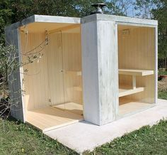 garten Easy And Cheap Diy Sauna Design You Can Try At Home 17 sauna whirlpool Sauna House, Sauna Room, Modern Saunas, Spa Sauna, Sauna Design, Outdoor Sauna, Micro House, Steam Room, Home Spa