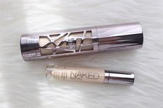 Urban Decay All Nighter Foundation, Naked Skin Concealer... The perfect match! — Check out my blog for other great beauty posts!