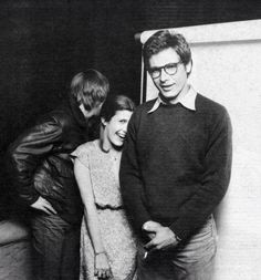 Mark Hamill, Carrie Fisher et Harrison Ford <3