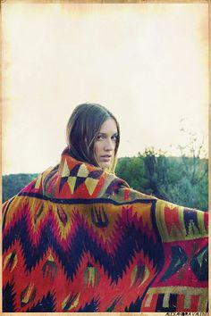 peruvian shawl...