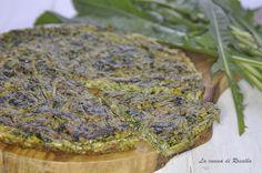 Frittata di cicoria al forno  #frittata #cicoria #lacucinadirosalba