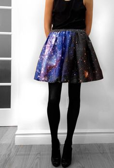 Space skirt! I. Need. It.